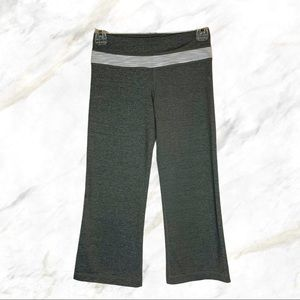 Lululemon | Gray Cropped Groove Pants